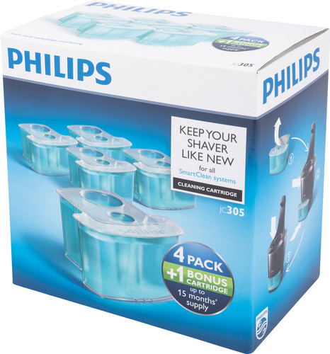 Philips JC305/50 cleaning cartridge 5-delige set Main Image