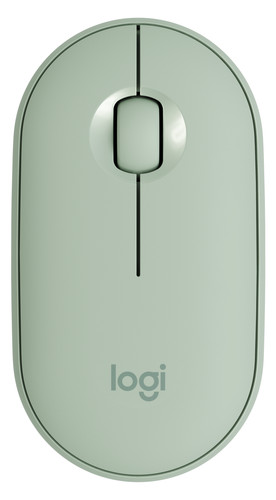 Logitech Pebble M350 Wired Mouse Green Main Image