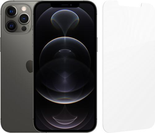 Apple iPhone 12 Pro Max 128GB Grafiet + InvisibleShield Glass Elite Screenprotector Main Image