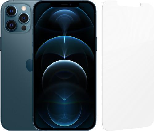 Apple iPhone 12 Pro Max 256GB Blauw + InvisibleShield Glass Elite Screenprotector Main Image