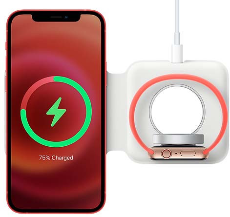 Apple Dubbele Draadloze MagSafe Oplader 15W Main Image
