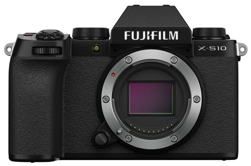 Fujifilm X-S10 Body Zwart Main Image