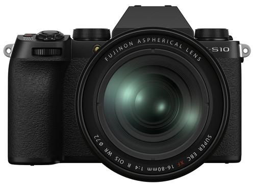 Fujifilm X-S10 Zwart + XF 16-80mm f/4 R OIS WR Main Image