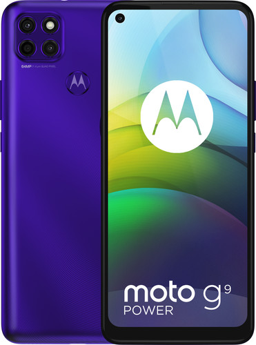 Motorola Moto G9 Power 128GB Paars Main Image