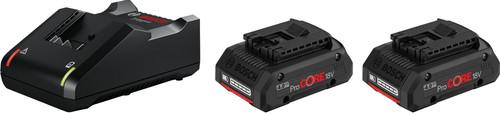 Bosch Professional Starterset 18V 4,0 Ah (2x accu + lader) Main Image