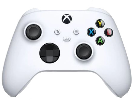 Xbox Series X and S Wireless Controller Robot White Main Image