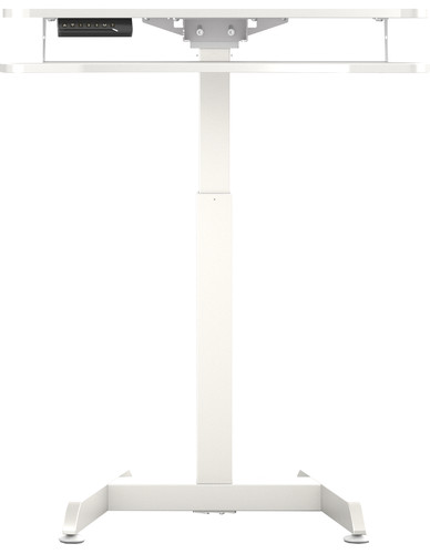 Worktrainer Small Electric Sit-Stand Desk 80x40 White Main Image