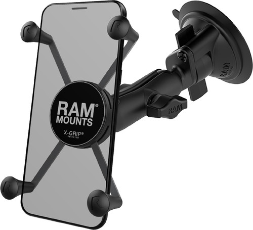 RAM Mounts Universal Phone Mount Car Suction Cup Windshield/Dashboard Large Main Image