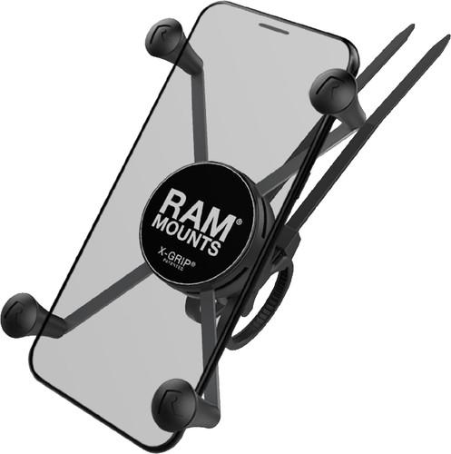 RAM Mounts Universal Phone Mount Bike EZ-ON/OFF Handlebar Large Main Image