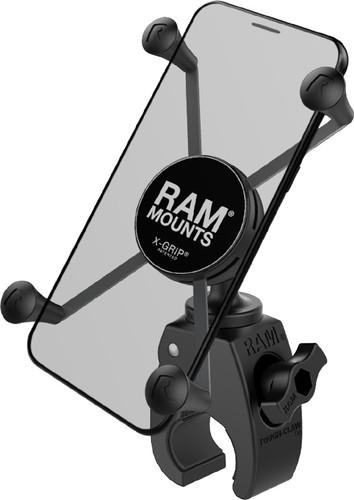 RAM Mounts Universele Telefoonhouder Motor Tough-Claw Stuur Groot Main Image