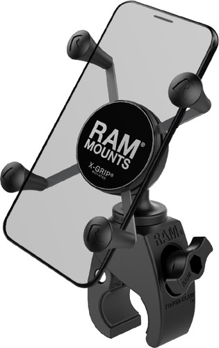 RAM Mounts Universele Telefoonhouder Motor Tough-Claw Stuur Klein Main Image