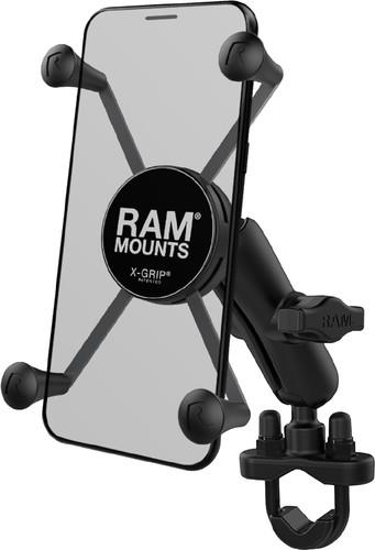 RAM Mounts Universal Phone Mount Motorcycle U-Bolt Handlebar Large Main Image