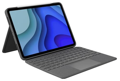 Logitech Folio Touch Apple iPad Pro 11 inch Toetsenbord Hoes QWERTY Grijs Main Image