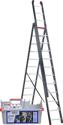 Altrex All Round 3 x 12 Reformladder Gecoat + Altrex Laddercaddy Main Image