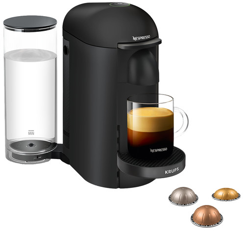 Krups Nespresso Vertuo Plus Deluxe XN903N Matte Black Main Image