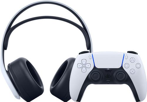 Sony PlayStation 3D Pulse draadloze headset + Sony PlayStation 5 DS draadloze controller Main Image