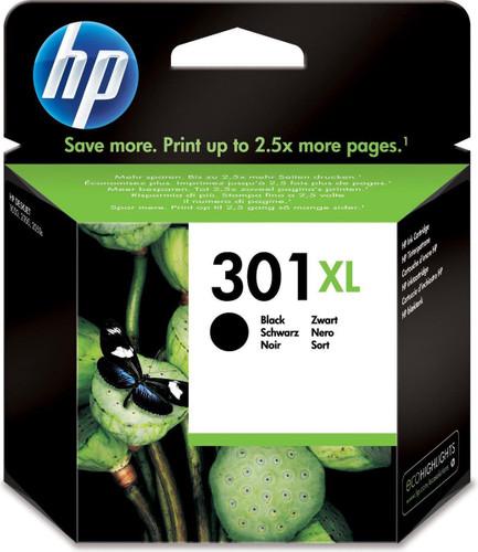 HP 301XL Cartridge Black Main Image