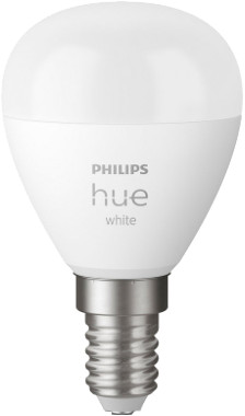 Philips Hue Spherical Light White E14 Bluetooth 1-pack Main Image