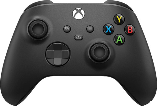 Xbox Series X and S Wireless Controller Carbon Black Main Image