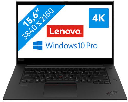 Lenovo Thinkpad P1 G3 - Beste laptop voor 4k videobewerking