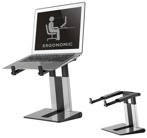 NewStar Foldable Laptop Stand NSLS200 Silver Main Image