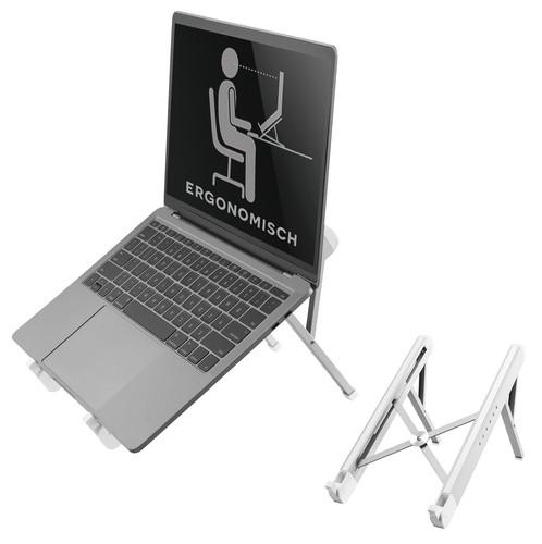 NewStar Opvouwbare Laptopstandaard NSLS010 Zilver Main Image