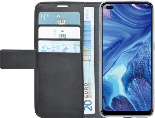 Azuri Wallet OPPO Reno4 Book Case Zwart Main Image