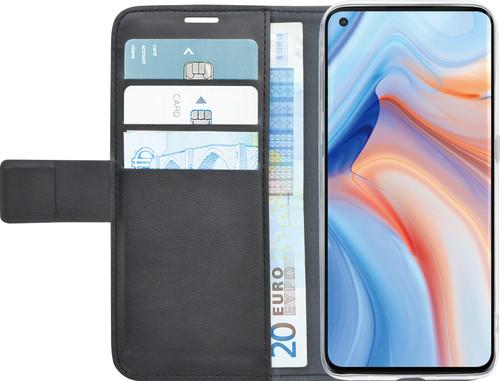 Azuri Wallet OPPO Reno4 Pro Book Case Black Main Image