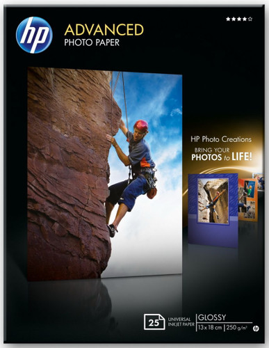 HP Advanced Glossy Fotopapier 25 vel (13 x 18) Main Image