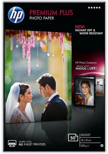 HP Premium Plus Glossy Fotopapier (10 x 15) Main Image