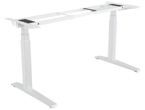 Fellowes Levado Sit-Stand Desk (Frame) White Main Image