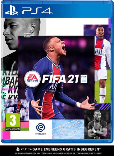 FIFA 21 PS4 and PS5 Main Image