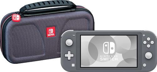 Nintendo Switch Lite Grijs + Bigben Officiële Nintendo Switch Lite Beschermtas Main Image