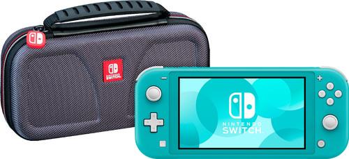 Nintendo Switch Lite Turquoise + Bigben Officiële Nintendo Switch Lite Beschermtas Main Image