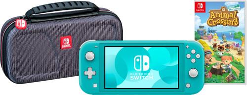 Game onderweg pakket - Nintendo Switch Lite Turquoise Main Image