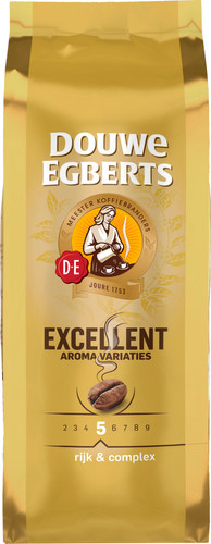 Douwe Egberts Aroma Excellent coffee beans 500 grams Main Image