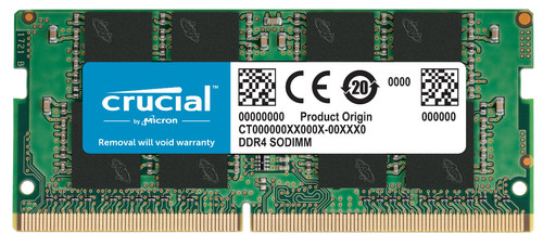 Crucial 4GB 2666MHz DDR4 SODIMM x8 Based (1x4GB) Main Image