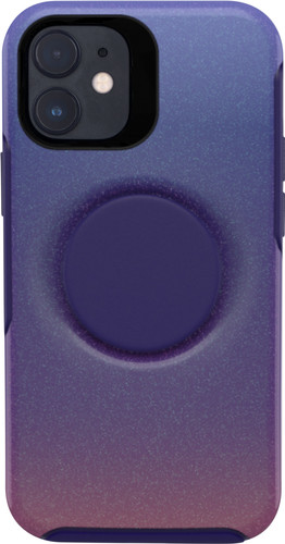 Otterbox Otter + Pop Symmetry Apple iPhone 12 mini Back Cover Paars Main Image