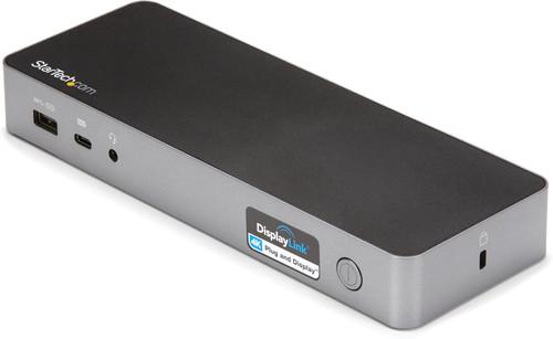 StarTech Hybride Universeel usb C & usb A Dock met Dual hdmi/DP en 60W PD Main Image