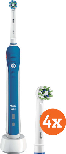 Oral-B Pro 2 2000N + Oral-B CrossAction Brush Attachments (4 units) Main Image