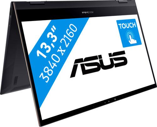 Asus ZenBook Flip S 13 - Flexibele 2 in 1 laptop voor videobewerking op 4K.