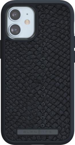 Nordic Elements Njord Apple iPhone 12 mini Back Cover Leer Grijs Main Image
