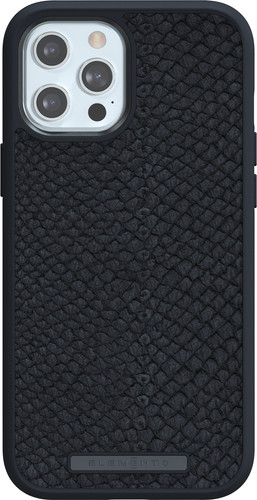 Nordic Elements Njord Apple iPhone 12 Pro Max Back Cover Leer Grijs Main Image