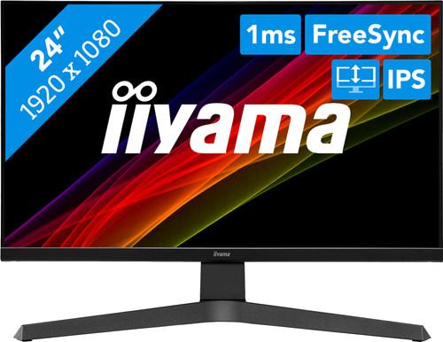 iiyama ProLite XUB2496HSU-B1 Main Image