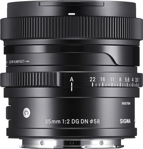 Sigma 35mm f/2 DG DN Contemporary Sony E-Mount Main Image