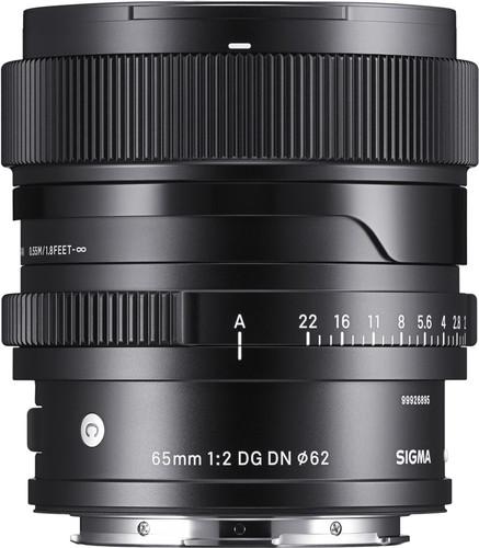 Sigma 65mm f/2 DG DN Contemporary Sony E-Mount Main Image