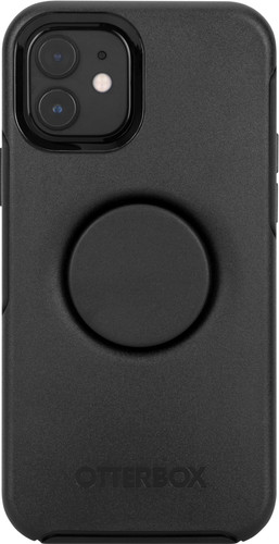 Otterbox Otter + Pop Symmetry Apple iPhone 12 / 12 Pro Back Cover Zwart Main Image