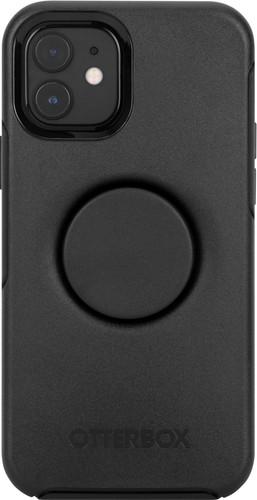 Otterbox Otter + Pop Symmetry Apple iPhone 12 / 12 Pro Back Cover Zwart Main Image