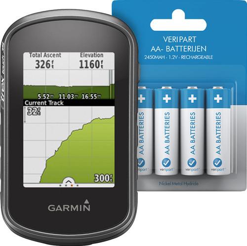 Garmin eTrex Touch 35 + Veripart Oplaadbare NiMH AA-batterijen 4 stuks Main Image