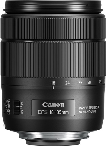 Canon EF-S 18-135mm f/3.5-5.6 IS USM Main Image